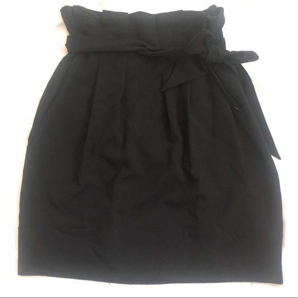 BCBG Dresses & Skirts - BCBG black tulip skirt 02